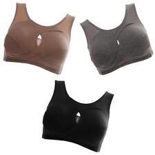 3pcs Soutiens-gorge de Sport Yoga à Bretelles Push-up Sans Armature Sexy