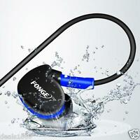 Waterproof Earphones In Ear Earbuds HIFI Sport Headphones Bass Headset + Mic RF