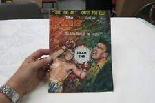 THE RING MAGAZINE MANDO RAMOS COVER AUGUST 1968 CLAY/ALI COVER