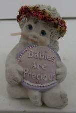 "1999 Dreamsicles ""Babies Are Precious"" Cherub Figurine"