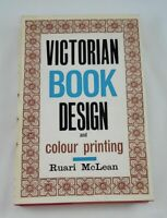 Victorian book design & colour printing.; Mclean; First; Art