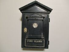 ANTIQUE NORTHERN ELECTRIC Fire Dept Alarm Station Call Box FROM ARMY BASE