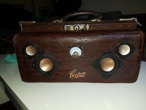 Vintage steampunk Coopers Speaker Bag