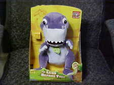 Singing & Talking Chomper Plush Toy With Box The Land Before Time Playmates 2007