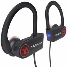 Treblab XR100 Bluetooth Sport Headphones Best Wireless Earbuds for Running or