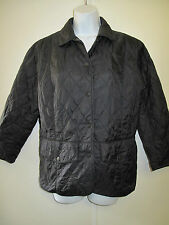 Barbour Tailor  Quilted Jacket - UK 14 Euro 40 in Black