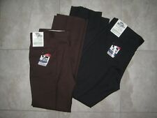 2 NWT Vintage MESQUITE by NIVER Brown Black Polyester Rockabilly VLV  Pants sz42