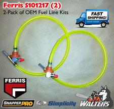 2 Genuine OEM Fuel Line Kits 5101217 for Ferris   Snapper Pro   Simplicity