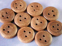 Pack of 10 CalderCraft Walnut Deadeyes For Model Ships Choice Of Sizes Available