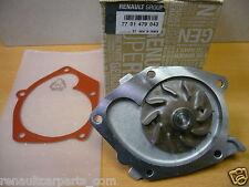 Renault Clio Megane Laguna Scenic Kango Genuine Water Pump And Gasket 7701479043