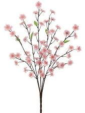 "27"" Blossom Flower Bush - Pink (pack of 12) Artificial Flower Silk Plants 021"