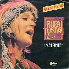 "Melanie - Ruby Tuesday Special Mix '89 7 "" Single S4387"