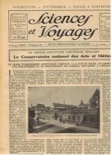SCIENCES ET VOYAGES 1924 ARTS ET METIERS GUINEE NIGER MOEURS CANAQUES