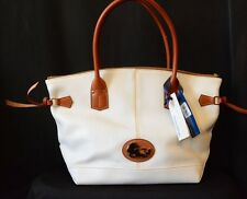 Dooney & Bourke White Medium Champosa New with Tags