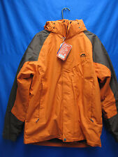 Winter Snow Jacket Men Warterproof 3 in 1 Orange Xx- Exchange Windbreaker Coat