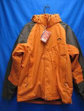 Winter Snow Jacket Men Warterproof 3 in 1 Orange Xx- Exchange Windbreaker Coat