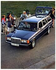 1983 Mercedes Benz Station Wagon Factory Photo ca2898