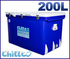 200L CHILLCO ICE BOX COOLER CHILLY BIN ICE CHEST SUPERIOR ICE RETENTION-RRP $680