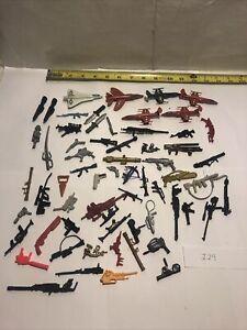 Vintage GI Joe 1980's Lot Weapons Parts Accessories Gun ARAH