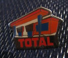 Great advertising push pin for Total Oil fuel service station design