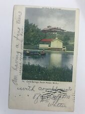 Cold Springs South Haven Michigan MI Postcard