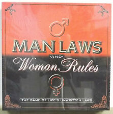 Man Laws And Woman Rules Adult Party Board Game Life's Unwritten Laws
