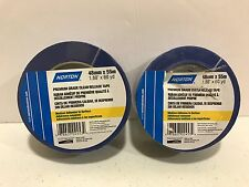 Norton Tape Blue 48mm x 55m Set of 2 Blue