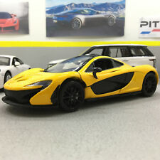 McLaren P1 Acid Yellow 1:24 Scale Die-Cast Model Car