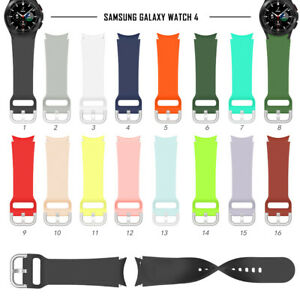 For Samsung Galaxy Watch 4 Classic Silicone Sport Replacement Watch Band Strap