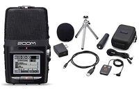 Zoom H2n Handy Handheld Digital Multitrack Recorder Bundle with APH-2n Accessory