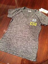 NWT CSU Colorado State UnderArmour Semi-Fitted HeatGear ShortSleeve Shirt Womens