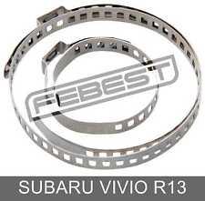XV 10X DRIVESHAFT CV JOINT BOOT KIT STAINLESS STEEL CLAMP CLIP XT SUBARU VIVIO