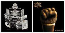 Lot de 2 albums vinyle 33 tours LP IAM 2013 & REVOLUTION 2017 blanc neufs