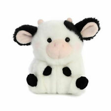"5"" Aurora World Rolly Pet Plush - Daisy Cow"