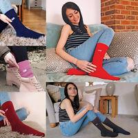 THMO - Femme polaire hiver chaudes chaussettes sans couture