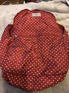 Cath Kidston Foldaway Backpack Red Spot