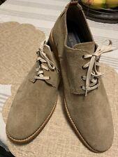 Men's Cole Haan Oxford Shoes Tan Beige Suede Shoes Size 13 M