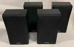 Set of 4 Onkyo Surround Sound Speakers SKM-550S L&R, SKB-550 L&R, BRAND NEW