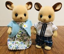 Calico Critters Epoch Sylvanian Families Lot of Two Kangaroo Family Couple