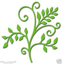 ✿ Flourish Stem & Leaves Vine Die ✿ ✿ New For Cuttlebug & Sizzix ✿