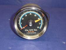 Vintage Sun Super Tach Tachometer SST-802 Blue Line