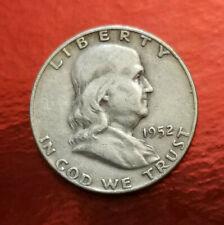 UNITED STATE OF AMERICA (Moneda) Coin half dollar 1952 Franklin Half Dollar Coin
