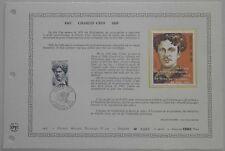 Document Artistique DAP 309 1er jour 1977 Charles Cros Audiovisuel