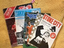 More details for vintage  manchester united football programmes , 5 issues 1960s onwards