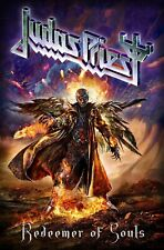 """JUDAS PRIEST - """"REDEEMER OF SOULS"""" - LARGE SIZE TEXTILE POSTER/FLAG - OFFICIAL"""