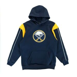 Buffalo Sabres NHL Team Logo Performance Pullover Hoodie Fleece Boys Youth SIzes