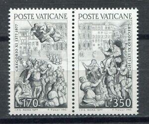 S25503) Dealer Stock Vatican MNH 1977 Pope Gregory Xi 2v (X10 Sets)