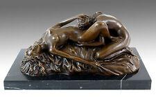 Erotismo Wiener bronce-cunnilingus-lesbenspiel-firmado Lambeaux