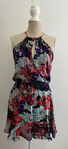 Parker Silk Blend Sleeveless Dress sz XS