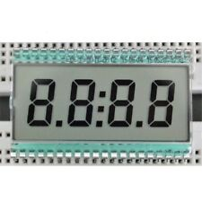 EDC190 4 Digit 7 Segment LCD Display Digital Clock Tube Static Driving 5V